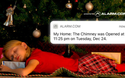 Catch Santa on Your Smart Home Security Camera This Year